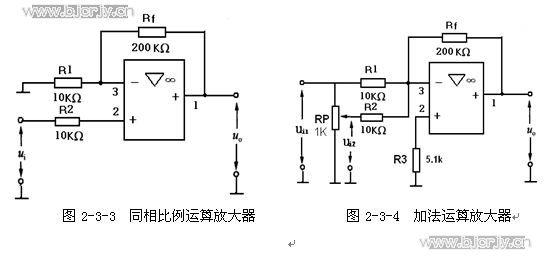 lm324同相放大电路图